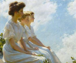 lady and charles courtney curran image