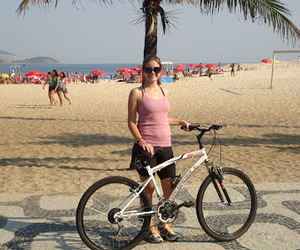 beach, bicicleta, and summer image
