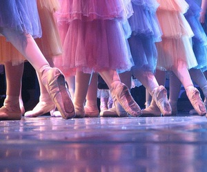 ballerine, ballet, and bow image
