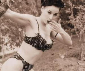 Dita von Teese, Pin Up, and polka dots image