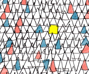 background, triangles, and illustration image