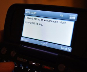 text and phone image