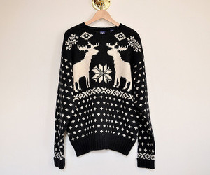 sweater, fashion, and winter image