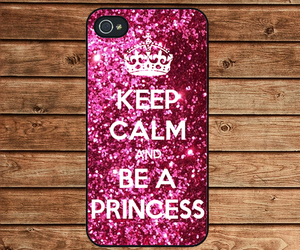 keep calm, sparkle painting, and be a princess image