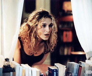 sarah jessica parker, carrie, and sex and the city image