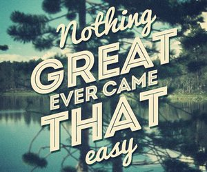 quote, great, and Easy image