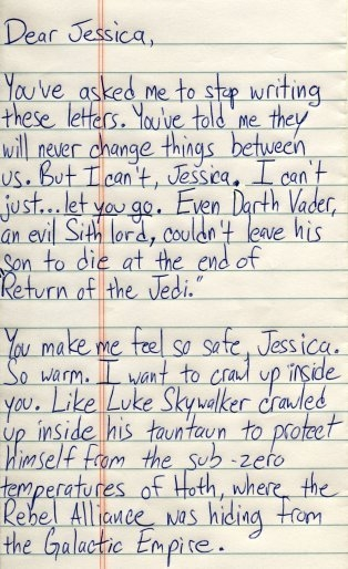 star wars, funny, and Letter image