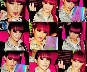 2ne1, bom, and pink hair image