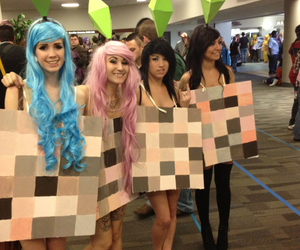 sims, funny, and cosplay image