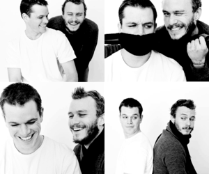 heath ledger and matt damon image
