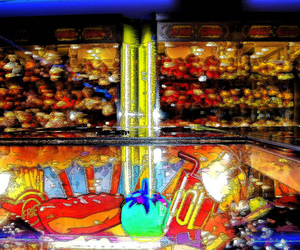 arcade and colorful image