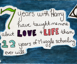 harry potter and life image