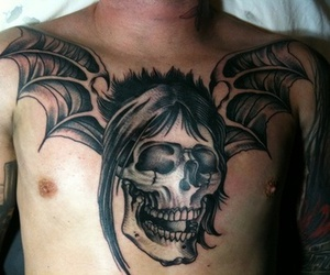 tattoo, the rev, and a7x image