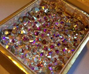 diamond, luxury, and gold image