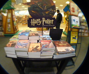 books, harry potter, and light image