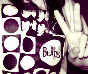beatles and peace image