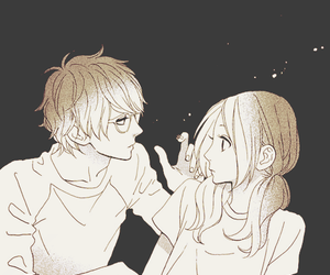 manga, couple, and hirunaka no ryuusei image