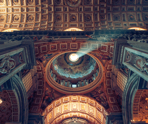 beautiful, art, and ceiling image