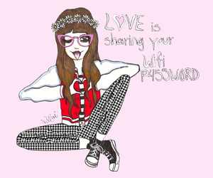 art, drawing, and valfre image