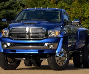 dodge ram and blue image