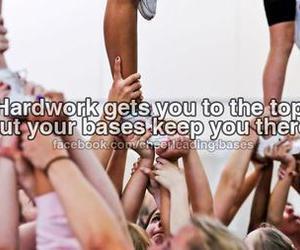 cheer, cheerleader, and top image