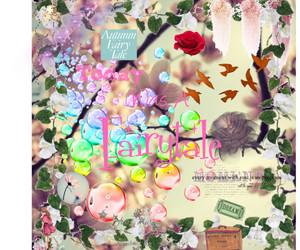 autumn, bubbles, and Dream image
