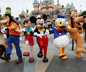disney, mickey, and goofy image