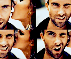 boy and girl, maroon 5, and cool image