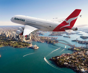airplane, sidney, and australia image