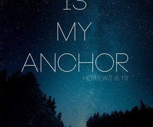 anchor, bible, and faith image