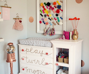 baby, decor, and bedroom image