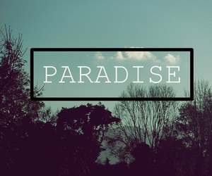 paradise, quote, and summer image