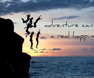 adrenaline, happiness, and jumping image