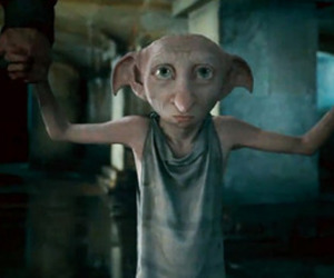 dobby and harry potter image