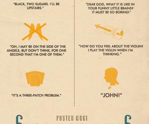 quotes, sherlock, and sherlock holmes image