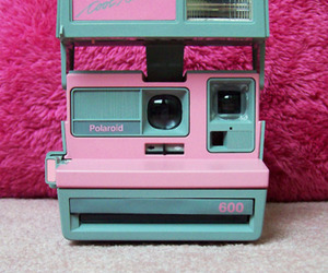 camera, pretty, and pink image