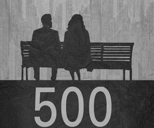 500 Days of Summer, movie, and black and white image