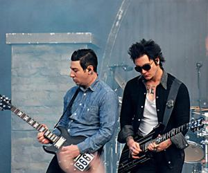 avenged sevenfold, black, and heavy metal image
