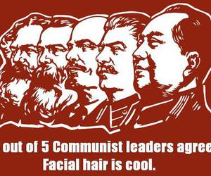 beards, facial hair, and lenin image