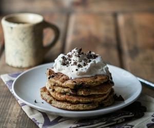 food, chocolate, and cream image