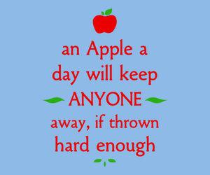 apple, tshirt, and funny image