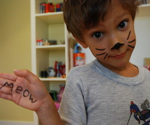 cute, boy, and meow image