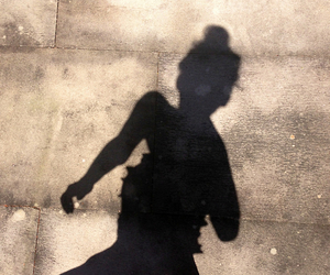 girl, shadow, and summer image