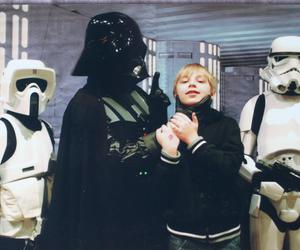 brother, cute, and darth vader image