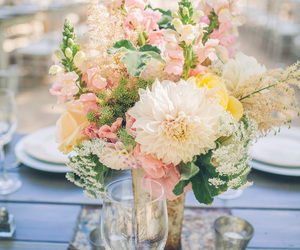 decor, decorations, and flowers image