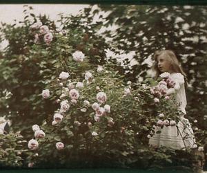 1900, garden, and girl image