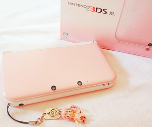nintendo, ds, and pink image