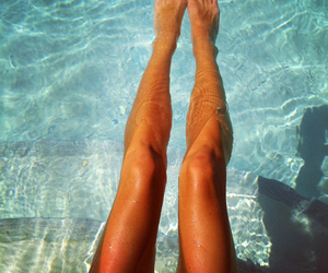 legs, summer, and skinny image