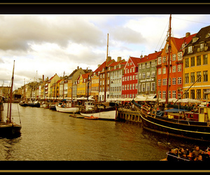 beautiful, bergen, and river image