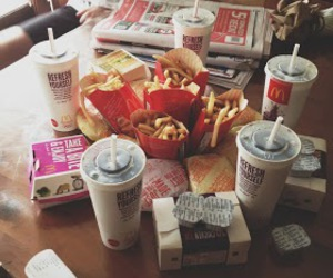 food, McDonalds, and mc donalds image